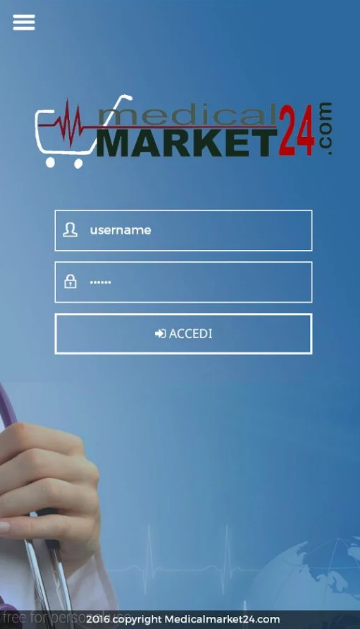 Medicalmarket24. Sviluppo app native
