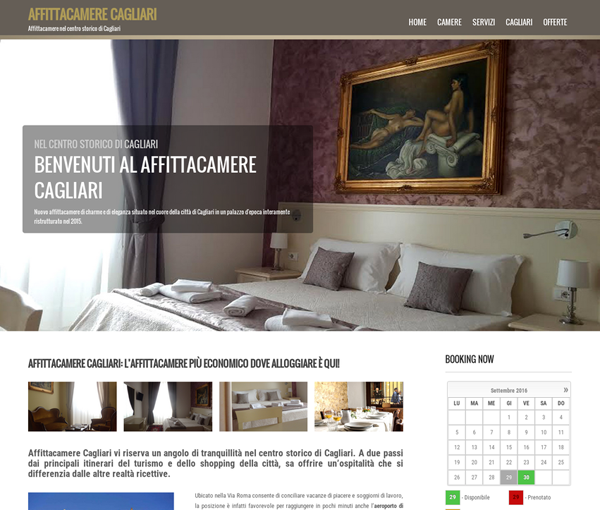 Grand Hotel Cagliari. Hotel Gestionale