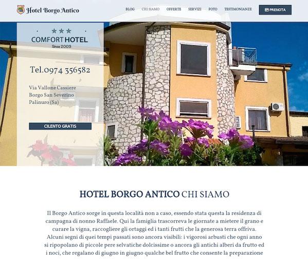 Hotel Borgo Antico. Hotel gestionale