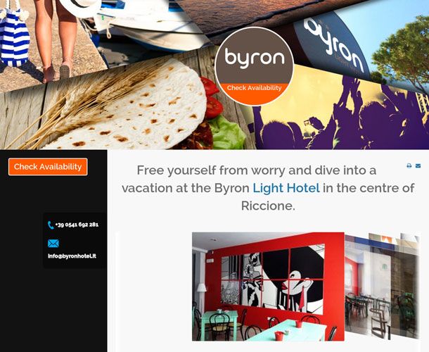 Byron Hotel. Gestionale Plus + Channel Manager