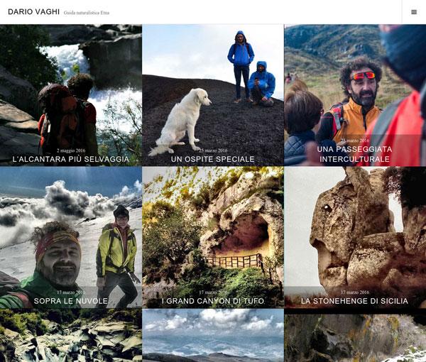Dariovaghi.com. Realizzazione sito web