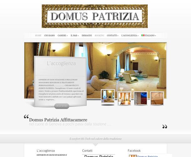 Domus Patrizia Genova. Gestionale Plus + Channel Manager