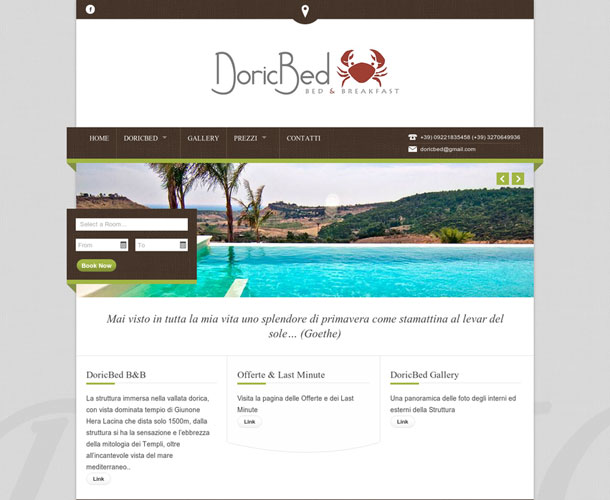 Doric Bed. Gestionale Plus + Channel Manager
