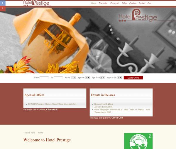 Hotel Prestige. Booking online