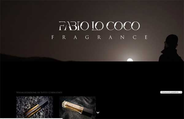 Fabio lo Coco fragrance – ecommerce