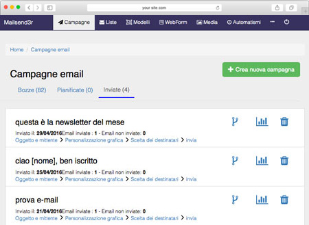 mailsend3r – software invio email