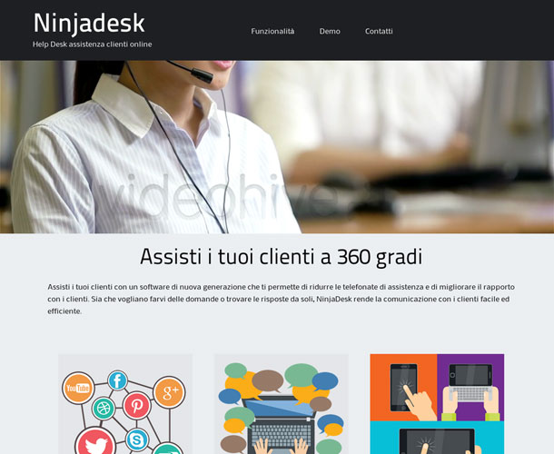 Ninjadesk.com – software assistenza online