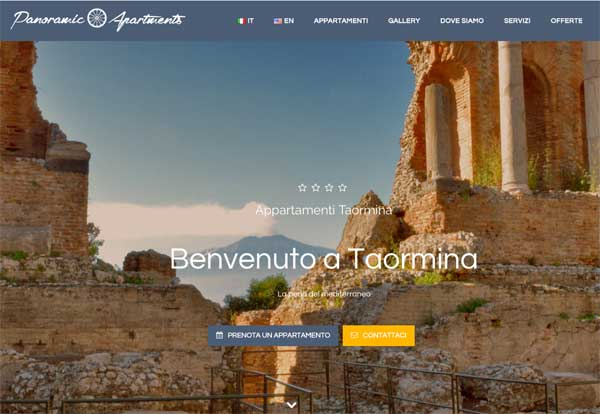 Appartamenti Taormina – panoramic apartments