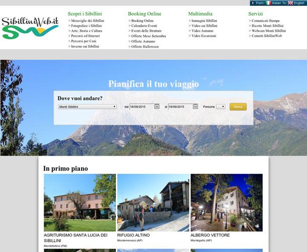 Booking Monti Sibillini