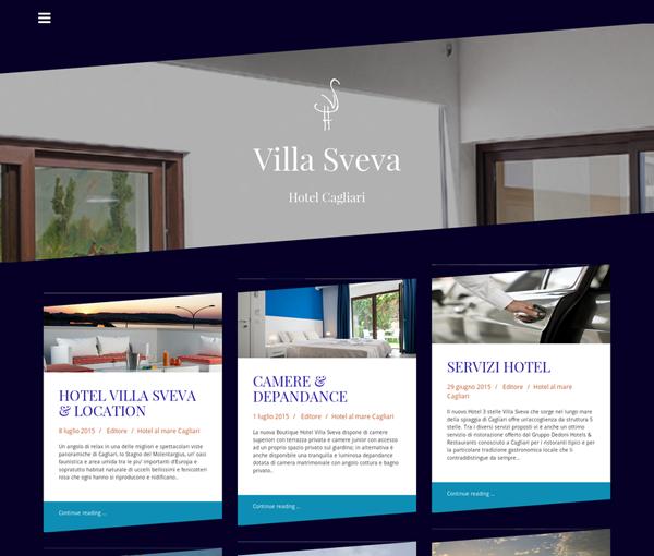 Hotel Villa Sveva. Hotel Gestionale