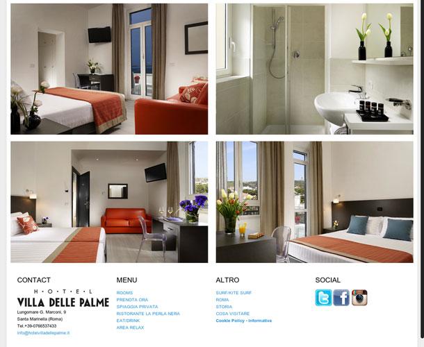 Hotel Villa delle Palme. Gestionale Plus + Channel Manager