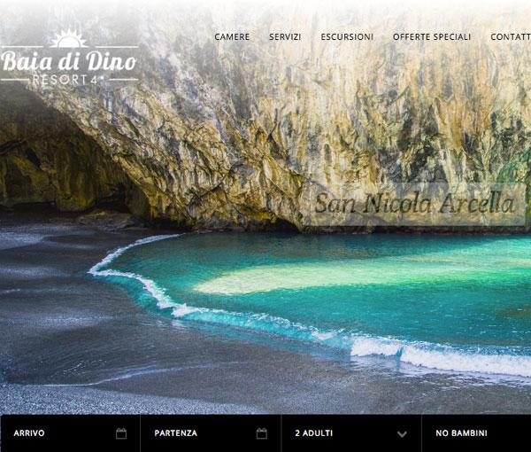 Villaggio Baia di Dino. Suite per hotel 360