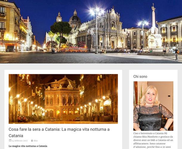 Visit Catania.com. Blog tematico